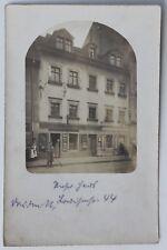 1724 Foto AK Dresden Neustadt Louisenstr. 44 Rasiersalon Friseur