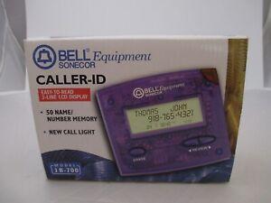 Vintage purple caller ID Box Belle Equipment