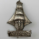 WW1 Royal Naval Division Nelson Battalion Sweetheart Brooch Badge