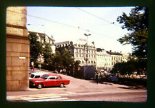 1970's Oslo Norway Kodak Slide Photo street view  #5