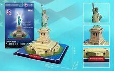 Daron Statue Of Liberty 3D 39 Piece Foam Puzzle Landmark Model Kit