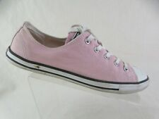 CONVERSE All-Star Low Pink Sz 8 Women Canvas Sneakers