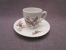 belle tasse et sous-tasse a café ancienne en porcelaine de limoges