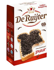 (11,39€/kg) 3x De Ruijter Hagelslag Puur Zartbitterschokolade Streusel 380g