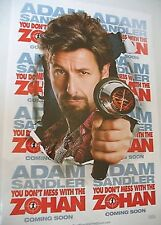 YOU DON'T MESS WITH THE ZOHAN MOVIE POSTER ORIGINAL NM