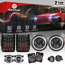 "7"" LED Headlight - FogLights, Turn Signal, Fender Lamp, Tail light Jeep Wrangler"