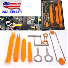Universal 12PCS Open Pry Tools Kit Panel Removal Car Dash Door Radio Trim Panel