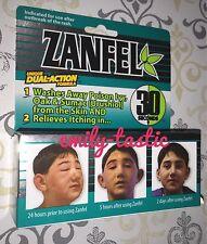 *ZANFEL Poison Ivy Oak Sumac 1 oz. Tube Itch Relief Wash Exp 01/2023 New Damaged