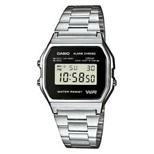 Casio Collection Reloj de Hombre A158WEA-1EF Digital Plata