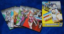 Gravion Season 1 and 2 Zwei Complete Collection 6 DVD Box ANIME ADV FILMS
