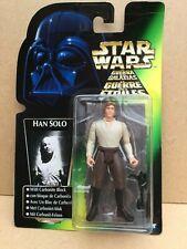 Star Wars Han Solo en Carbonita en la tarjeta de logotipo Tri. 1996.
