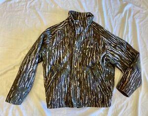 VTG Cabela's Gore Tex Trebark Camo Whitetail Clothing Jacket Thinsulate Med Reg