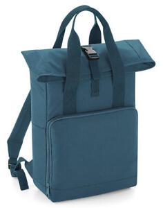 BagBase Twin Handle Roll-Top Backpack BG118