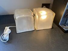 Ikea ice cube glazen vintage lampen