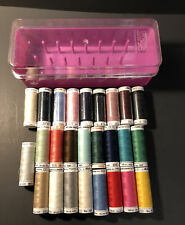 26~Mettler Cotton Thread, 164 - 219 yd spools, Assorted Colors New/Used