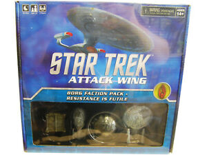 Star Trek Attack Wing Borg Faction Pack - Resistance is Futile