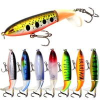 Crankbait Sea Perch Salmon Pike Trout Spinners Fishing Lures Tackle Hooks