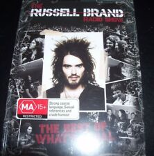 Russell Brand Radio Show The Best of wehat's Legal (All Region) 3 CD + DVD New