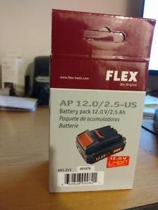 Flex polisher battery 12 volt 2.5AH