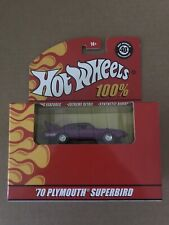2008 Hot Wheels 100% Collectibles '70 PLYMOUTH SUPERBIRD Purple 40th Anniversary