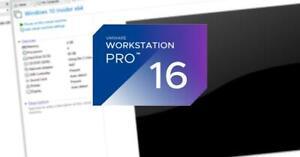 Genuine Vmware workstation pro 16 (windows)