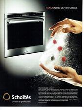 Publicité Advertising 058  2010   Scholtès   four grande capacité