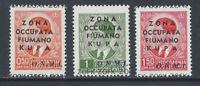 Occupazione Italiana KUPA 1941 Soprastampati OMNI MNH** (KF) Varietà