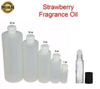 Strawberry Fragrance Body Oil PREMIUM Candle Soap Bath Bomb Incense Making Scent