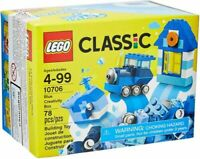 LEGO Classic Blue Creativity Box 10706 Brand New Building Kit MISB