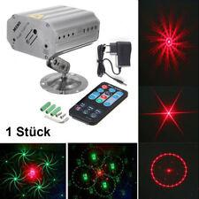 2-LED Bühnenbeleuchtung Laser Bühnenlicht Strahler DJ Disco Lichteffekt 12 in 1