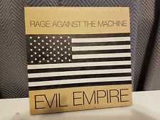 RAGE AGAINST THE MACHINE EVIL EMPIRE Advance Silkscreened NM 7 inch SCARCE 1995