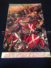 1798 Irish Rebellion Vinegar Hill, Enniscorthy, Wexford - Wolfe Tone Print