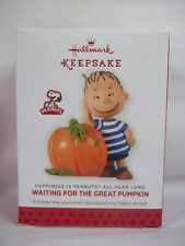 Hallmark 2013 Great Pumpkin 3rd Linus Peanuts Gang Monthly Ornament Series