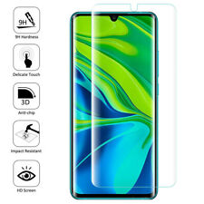 Film Protection Écran Verre Trempé Bord Incurvé Xiaomi Mi Note 10/ Note 10 Pro