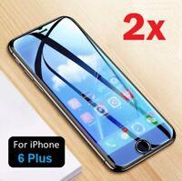"""✅2x PANZERFOLIE für iPhone 6 Plus 5,5"""" Gehärtetes Schutz Glas Optik Anti-Shock✅"""