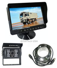 "5"" Color LCD Reversing HD Monitor & CCD 700TVL Reverse Camera & 32ft 4-Pin Cable"
