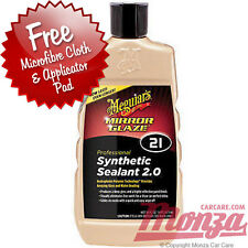Meguairs Mirror Glaze 21 Synthetic Car / Motorbike Sealant **PLUS FREE APP KIT**
