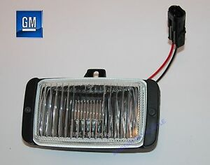 85-90 Firebird Front Driver Or Passenger Fog Light Housing Assembly NEW GM  276