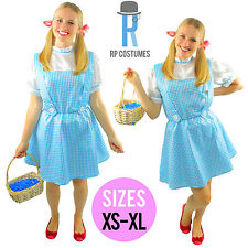 Ladies/Adult/Womens Wizard of OZ Dorothy Fancy Dress Up Party Costume/Outfit