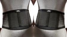 "2 Pack McDavid Back Stabilizer Support Brace Black Size Regular Waist 28"" - 38"""