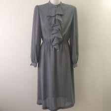 Secretary/Geek Polyester Vintage Dresses for Women