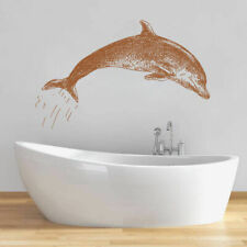 ik1337 Wall Decal Sticker Sea animals dolphin bathroom living room bedroom