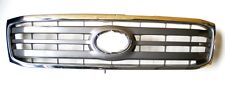 Radiator Grille Front Chrome/Grey For Toyota Landcruiser HDJ100 4.2TD 8/00-8/02