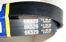 Serpentine V-Ribbed Belt Power-Fit 6K529 repl. K060529, 5060530, 530K6, 4060530