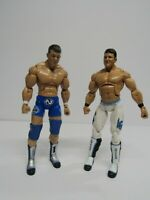 lot 0f 2 2010 TNA Impact Jakks AJ Styles Genesis Wrestling Figure WWF WWE
