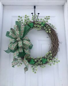 St Patricks Day Wreath, St. Patrick's Day Wreath, Winter Wreaths For Front Door