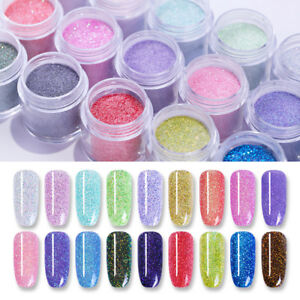 NICOLE DIARY 10ml Holo Chameleon Dipping System Powder Shimmer Nail Art