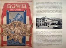 VALLE D' AOSTA GUIDA ILLUSTRATA IN LINGUA FRANCESE
