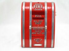 Vintage Edwards Pull Down Fire Alarm Box Used Free Shipping