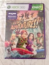 Kinect Adventures  (Xbox 360, 2010) Video Game NEW